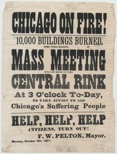 What (or Who) Caused the Great Chicago Fire? | History | Smithsonian