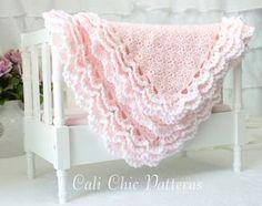 Crochet bebé manta patrón 100  Iris  ganchillo por CaliChicPatterns