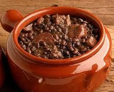 Feijoada? A delicious bean and meat stew.