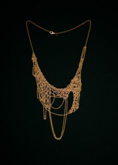 Knitted Jewelry inspiration......