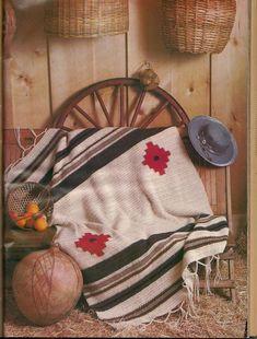 Crochet Quilt, Crochet Home, Crochet Kitchen, Crochet Afghans, Crochet Gifts, Diy Crochet, Native American Blanket, Native American Indians, Afghan Patterns