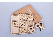 Tic Tac Toe Spiel / Hölzernes Tischspielzeug