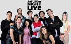"""Rafinha Bastos e o elenco da versão brasileira do """"Saturday Night Live"""""""