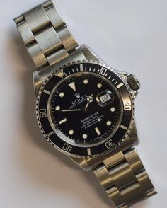 LOT 341: A good stainless steel gent's #Rolex Submariner in stainless steel with date aperture. Est. 3500 - 4000. Coming up in our SPRING AUCTION on Thursday 9th March. To include  #Silver #Jewellery #Watches #Collectables #Pictures #China & #Antique #Furniture. #March9 #whittonsauctions #auction #Honiton #pin