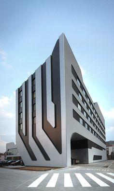 Futuristic Architecture Concept: Futuristic Architecture SOF Hotel Designed by J. MAYER H. Architects in Poland