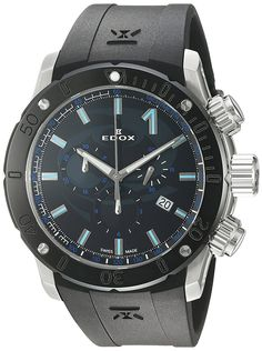 The Edox Men's watch from Edox isn't half bad, however, it just might irritate Audemars Piguet with the Chrono-offshore name. Scuba Diving Watches, Scuba Bcd, Scuba Watch, Scuba Diving Equipment, Audemars Piguet, Casio Watch, Quartz
