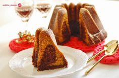 Cuchillito y Tenedor: Bundt cake de calabaza y chocolate.