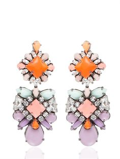 Shourouk BLONDI HEROINE EARRINGS €479