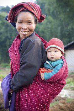 Pao Woman baby - Village near Kalaw - Burma - Sylvain Braj… | Flickr