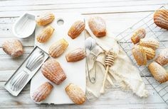 the author says this is the best madeleine recipe they have ever made. :)   ..Twigg studios: madeleines (authentic french recipe from laduree)