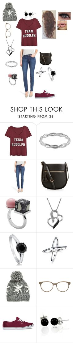 """""""Dusty's Style 12"""" by vannerjo19 ❤ liked on Polyvore featuring Jewel Exclusive, Paige Denim, Monsoon, Eshvi, BERRICLE, Bling Jewelry, Prism and Vans"""