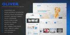 Download and review of Oliver - Responsive Multipurpose Wordpress Theme, one of the best Themeforest Corporative themes {Download & review at|Review and download at} {|-> }http://best-wordpress-theme.net/oliver-responsive-multipurpose-download-review/