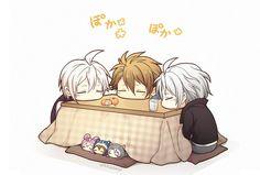 Trigger babies, they are so Cute Anime Music, Sad Anime, Manga Anime, Pikachu, Pokemon, Hotarubi No Mori, Anime Child, Cute Comics, Diabolik Lovers