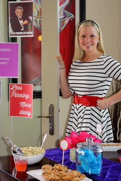 The former Patch columnist's business is called Poppy Event Design and she's currently in the process of planning seven parties. Moms' Night Out, Pinterest Crafts, White Elephant, Craft Party, Perfect Party, Party Gifts, Gag Gifts, Holiday Parties, Holiday Ideas