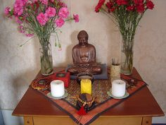 photos of buddhist alters | Altar ego | Hoarded Ordinaries