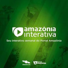 Peças para as redes sociais do Portal Amazônia - Amazônia Interativa