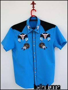 Camisa Indian Blue
