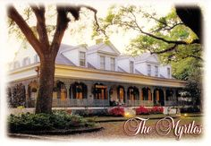 Myrtles Plantation most haunted house in america! Loved it! Didn't sleep at all that night! Lol