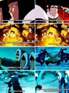 The Legend of Korra: Eska and Bolin lol- She is one of my new favorite characters!!!