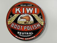 Posts about Kiwi Boot Polish Co written by longwhitekid Vintage Tin Signs, Vintage Tins, Vintage Labels, Vintage Posters, Vintage Images, Long White Cloud, New Zealand Houses, Nz Art, Maori Art