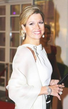 Queen Maxima of the Netherlands Estilo Real, Royal Queen, My Fair Lady, Queen Maxima, Royal Jewels, Royal Fashion, Well Dressed, Daughter, Celebs