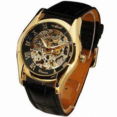 $22.99 (Buy here: https://alitems.com/g/1e8d114494ebda23ff8b16525dc3e8/?i=5&ulp=https%3A%2F%2Fwww.aliexpress.com%2Fitem%2FWINNER-Luxury-Men-s-Automatic-Mechanical-Wrist-Watch-Leather-Strap-Precision-Durable-Roman-Numbers-W-Box%2F32444457248.html ) WINNER Luxury Vintage Men's Automatic Mechanical Wrist Watch Skeleton Dial Leather Strap Roman Numbers Golden Case W/ Box for just $22.99