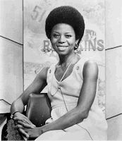 Love this: In 1971 Melba Tolliver, a WABC-TV correspondent, made national headlines when she wore an afro while covering the wedding of Tricia Nixon Cox, daughter of President Richard Nixon. The station threatened to take Tolliver off of the air until the story caught national attention.