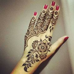 Stylish & Trendy Arabic Mehandi Designs Collection for Hands & Feet 2015-2016 (26)