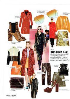#Dagmar spotted in #ELLE magazine #NOV issue. #AW15