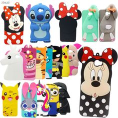For Huawei Y5 ii Hot 3D Silicon Sulley Minnie Stitch Unicorn Cartoon Soft Phone Back Skin Cover Case for Huawei Y5II / Y5 II 2 #Affiliate