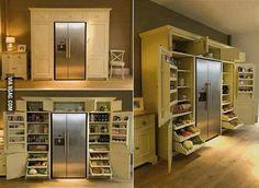 Ultimate Kitchen Storage Unit!