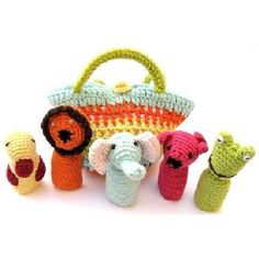 bbd4342cb20 Fair trade animal finger puppets. Too cute! Organic Baby Toys