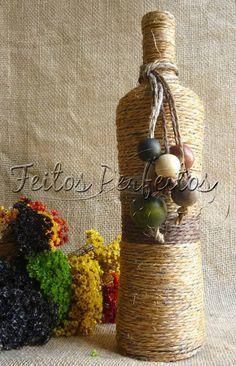 Feitos Perfeitos Fofurices: GARRAFAS DECORATIVAS