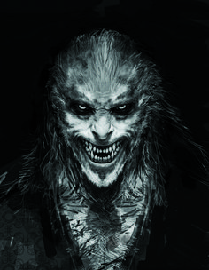 Fenrir Greyback | The Original Harry Potter Creature Concept Art Is Utterly Breathtaking