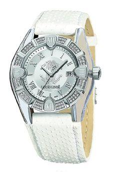 #Beauty #Beautiful This is a women's #Roberto Cavalli Genuine Python Watch,