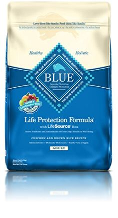 BLUE Life Protection Formula Adult Chicken and Brown Rice Dry Dog Food 30-lb Reviews