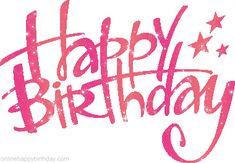pink happy birthday - Google Search