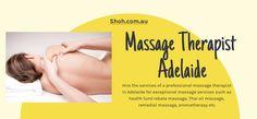 Massage Deals, Remedial Massage, Professional Massage, Aromatherapy, Health, Health Care, Salud