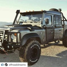 Land Rover Defender 110 Td4 DCH- Extreme preparation as Beast exploration planet...lol)