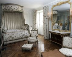 Marie Antoinette's bedroom in the Petit Trianon