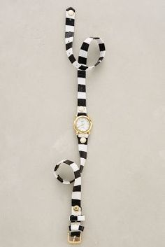 La Mer Striped Wrap Watch #anthrofave