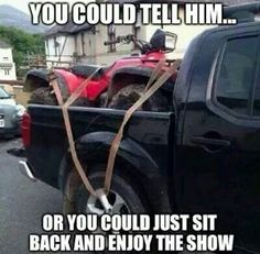 What would you do?  Personally I would sit back and wait for a great laugh.
