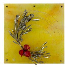 Εικαστικά Έργα | Ταξίδι Δημιουργίας Crafts To Do, Diy Crafts, Christmas Diy, Merry Christmas, Rosh Hashanah, Handmade Home, Cold Porcelain, Clay Projects, Wood And Metal