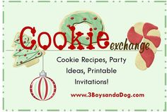 Check out the newest post (Christmas Cookie Exchange Ideas) on 3 Boys and a Dog at 3boysandadog.com/...