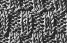 Encyclopédie des points de tricot. LE POINT Cotes Brisees 2/2
