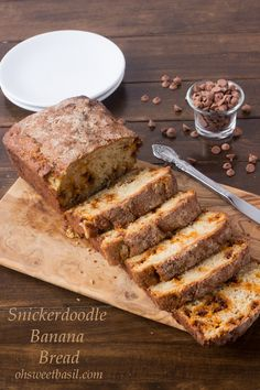 Snickerdoodle Banana Bread is about to be the new favorite in your life!