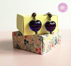 #pendientes #earring #cristal #handmade #hechoamano #complementos