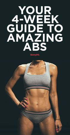 Get abs like never before! These ab workout plans work because it's easy to follow, yet delivers an effective total-core workout.