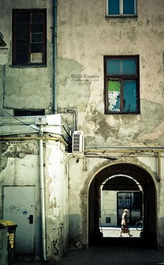 Decayed courtyards | Cropping Reality by Ula Kapala