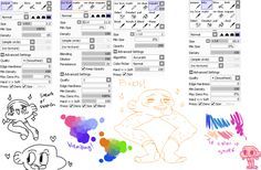 Jinx Thinks That... // panmari: pretty much !!!! all the brushes i use...